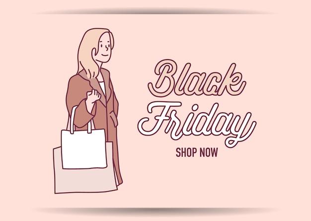 Banner de viernes negro super venta descuento tienda en casa ahora