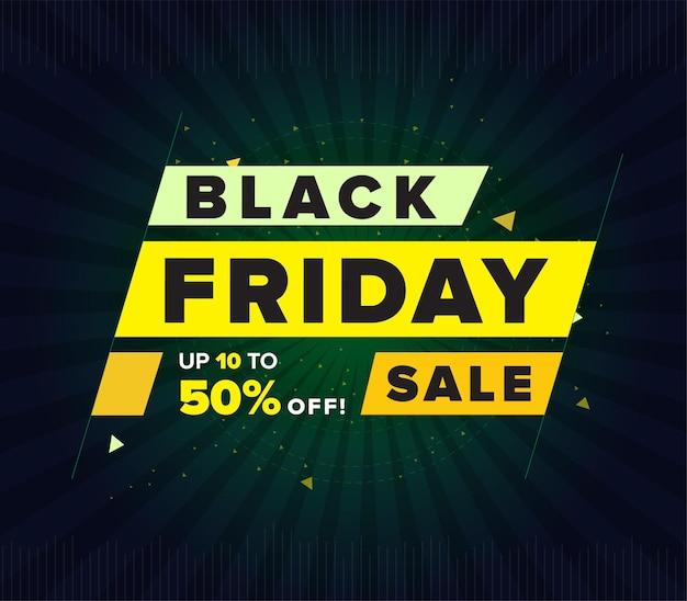 Banner web de viernes negro