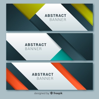 Banners abstractos