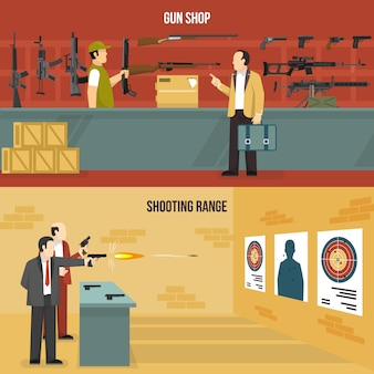 Banners de armas de armas