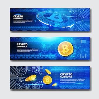 Banners de bitcoin