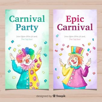 Banners de carnaval