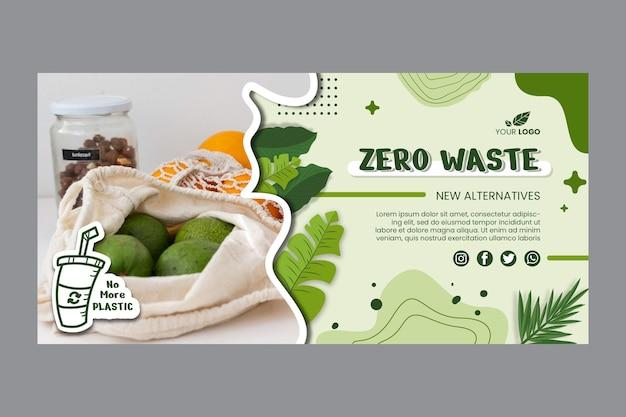 Banners de cero residuos