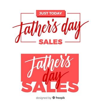 Banners creativos del día del padre
