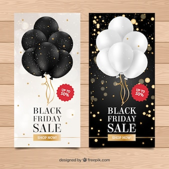 Banners de black friday