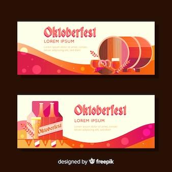 Banners de oktoberfest