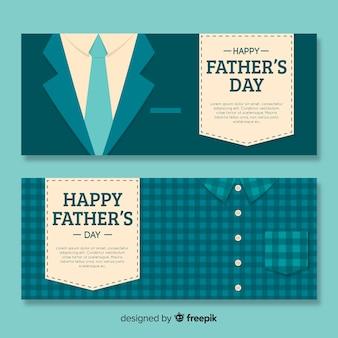 Banners del día del padre