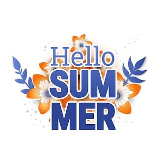 Banners de diseño de fondo de venta de verano.