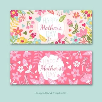Banners feliz día de la madre