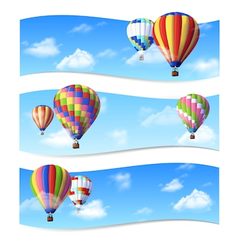Banners de globo de aire