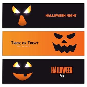 Banners de hallowen