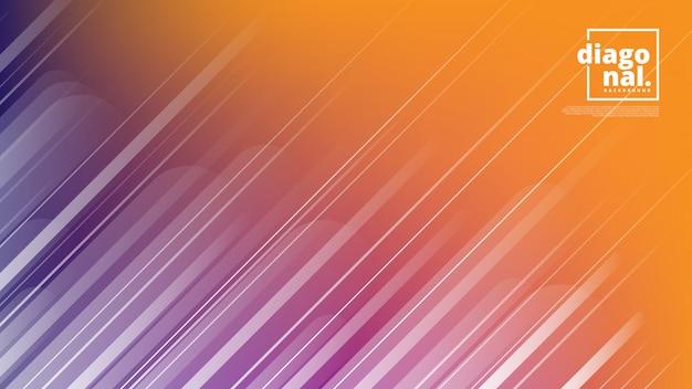 Banners horizontales con fondo abstracto y formas de líneas diagonales.