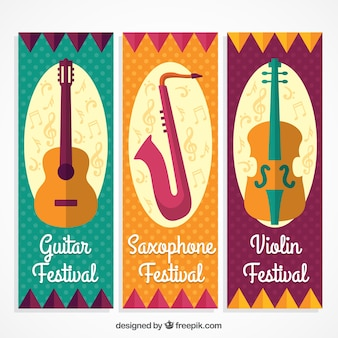 Banners de instrumentos