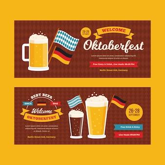 Banners oktoberfest