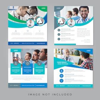 Banners de redes sociales médicas