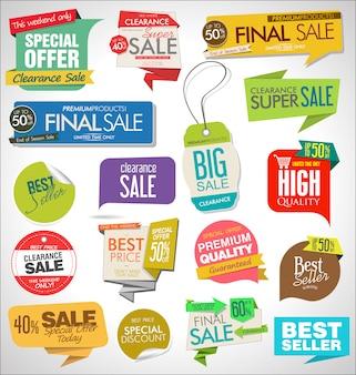 Banners de venta