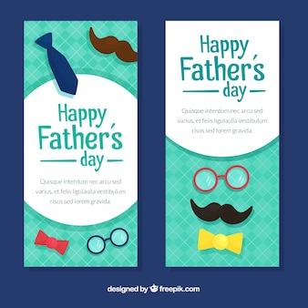 Banners verticales para el día del padre