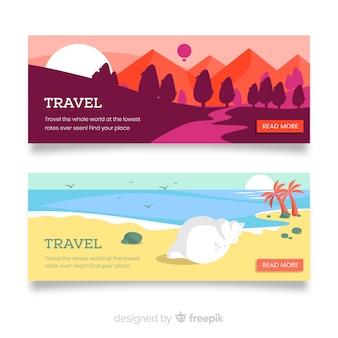 Banners de viaje