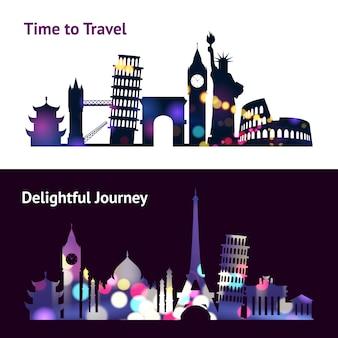 Banners de viajes