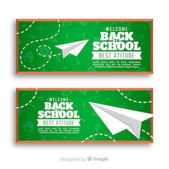 Banners de la vuelta al cole