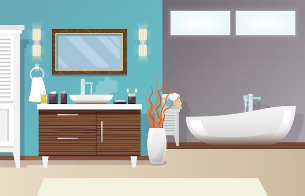 Baño moderno interior