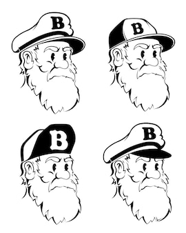 El barbudo capitán hipster