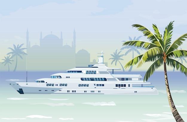 Barco de viaje