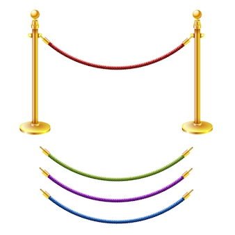 Barrera de cuerda