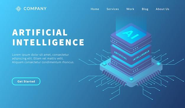 Base de datos de inteligencia artificial con sistema informático de base de datos