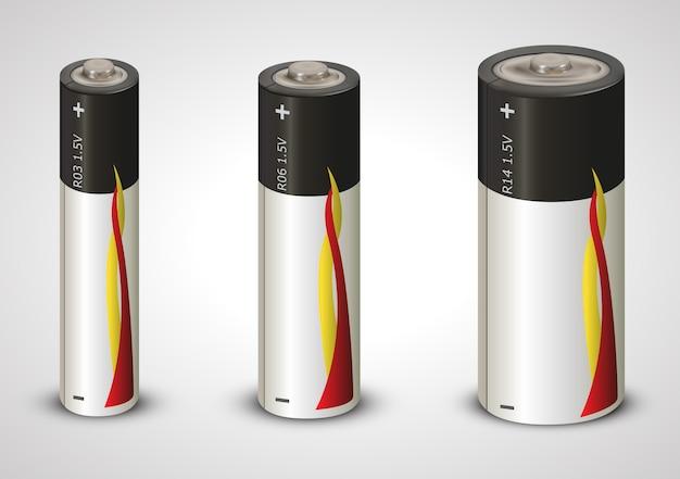 Batería de litio 1,5v