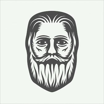Beardman leñador