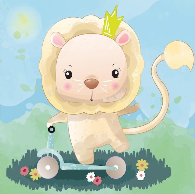 Bebé león