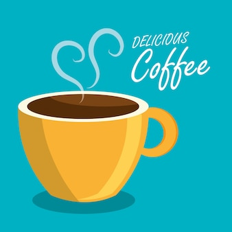 Bebida de cafe bebida aislada