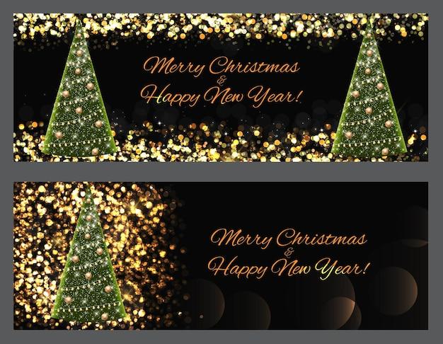Belleza abstracta fondo de navidad y año nuevo. ilustración de vector. eps10