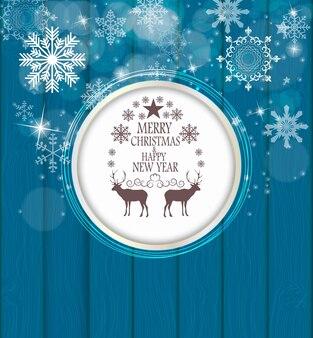 Belleza abstracta fondo de navidad y año nuevo. ilustración vectorial. eps10