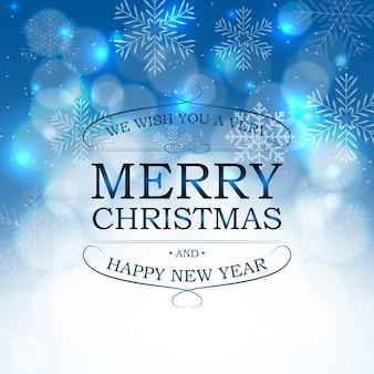 Belleza abstracta fondo de navidad y año nuevo. vector illust