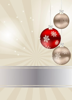 Belleza abstracta fondo de navidad y año nuevo.