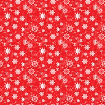 Belleza abstracta navidad y año nuevo con nieve y copos de nieve. patrón sin costuras
