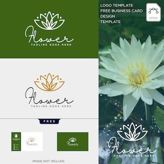 Belleza cosmética línea arte logotipo plantilla vector ilustración icono elemento