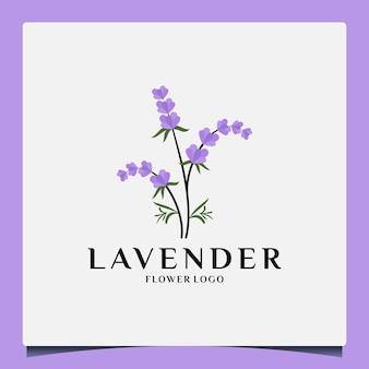 Belleza lavanda plantilla de diseño de logotipo cosmética, salón, spa, herbal