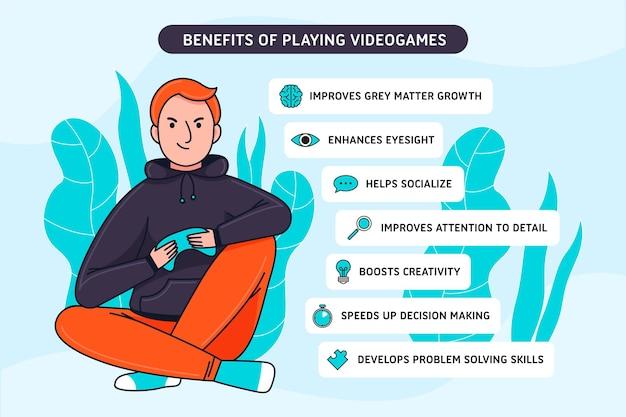 Beneficios de jugar videojuegos