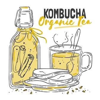 Beneficios del té de kombucha
