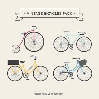 Bicicletas vintage paquete