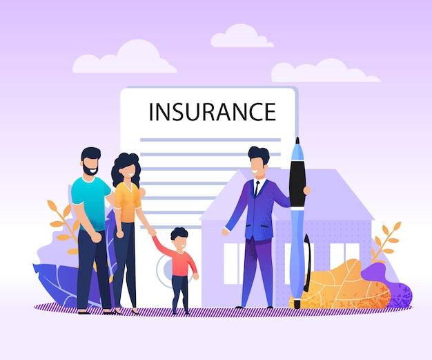 Bienes raíces, casa, servicios de seguros de propiedad