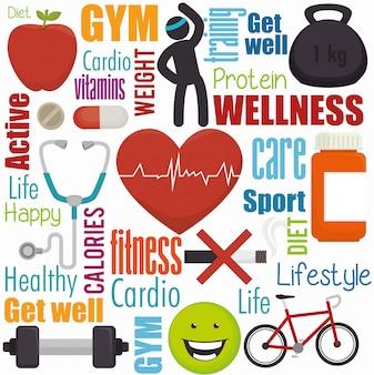 Bienestar en el cuidado de la salud.