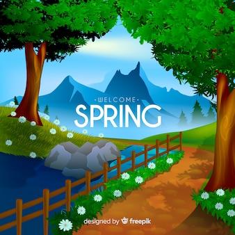 Bienvenida a la primavera