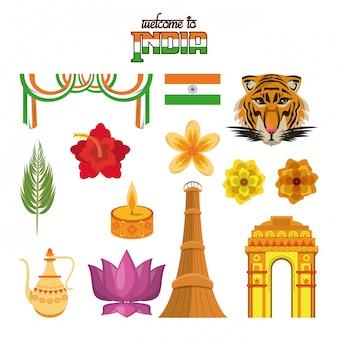 Bienvenido a emblemas de turismo de india