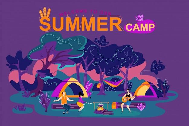 Bienvenido a nuestro campamento de verano