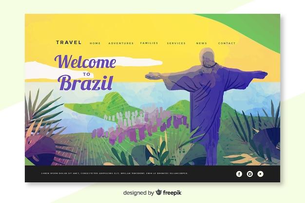 Bienvenido a la página de aterrizaje de brasil