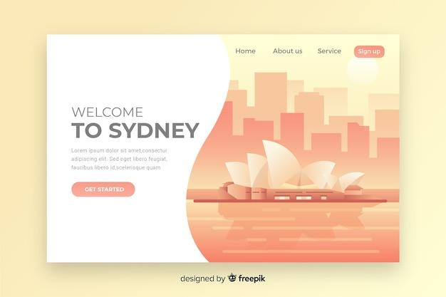 Bienvenido a la página de inicio de sydney